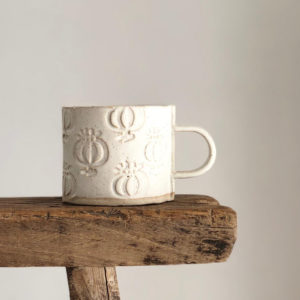 Ceramic Mug - Seed Head Design