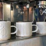 Ceramic Mug - Seed Head Design
