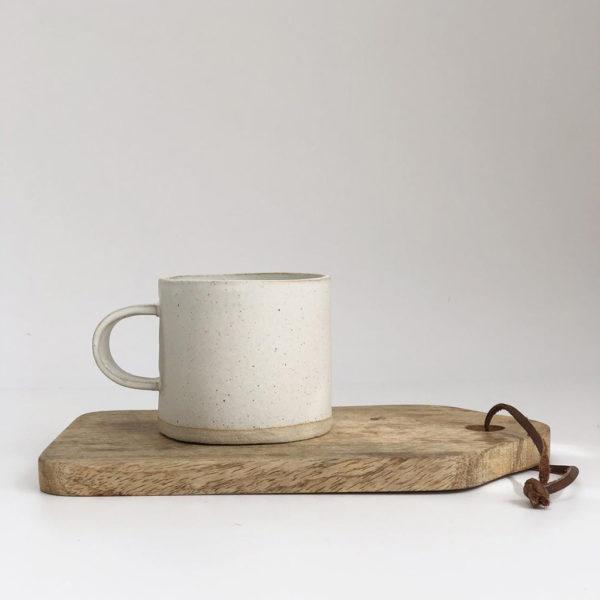 Ceramic Mug - Soft Matt Vanilla Glaze