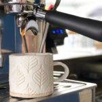 Ceramic mug – Leaf Design 3