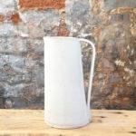 Handmade Pottery Jug - Soft Matt Vanilla Glaze
